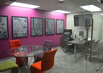 Colourful Office Space